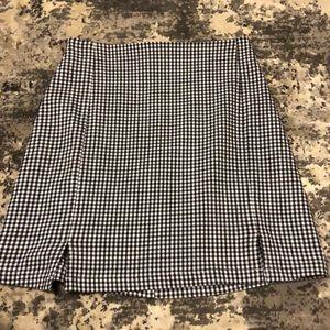 Brandy Gingham Mini Skirt (Cara Skirt)